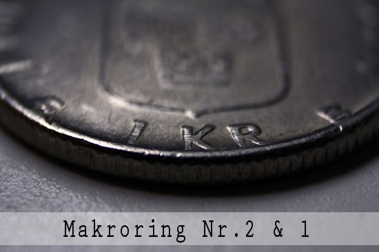 Makroring nr.1 & nr.2