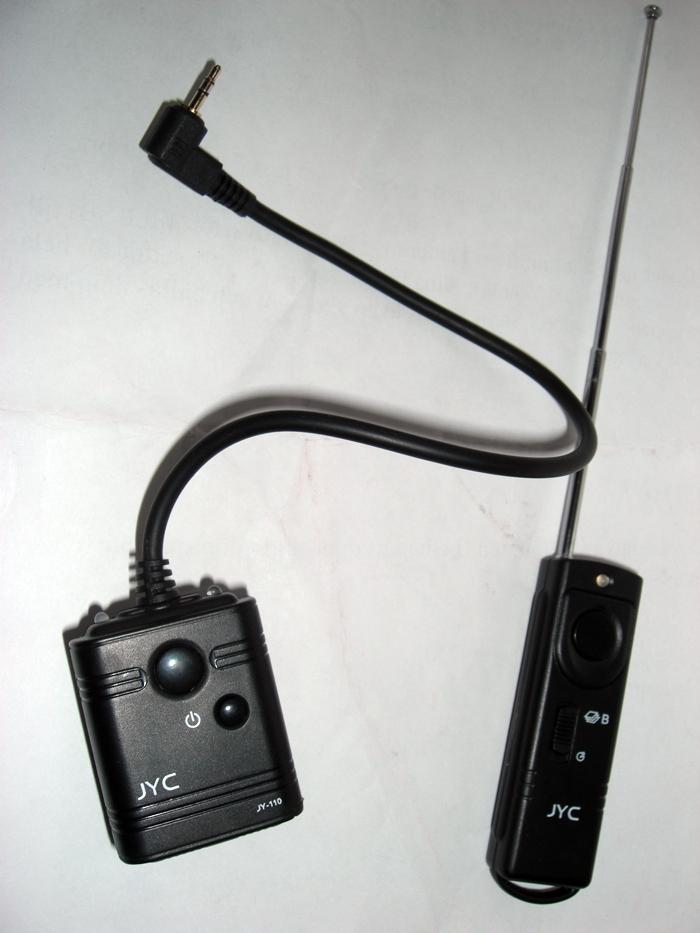 Fjärrutlösare till kameran